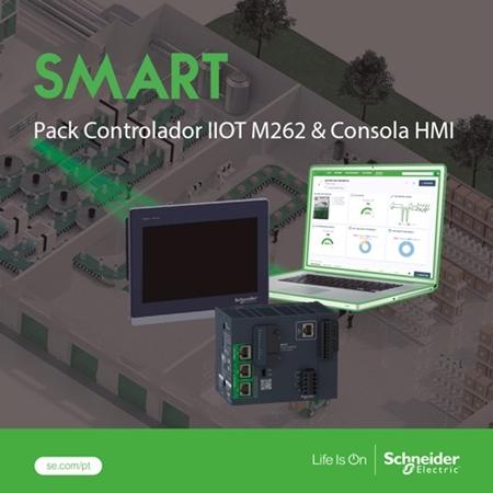 Logo do fornecedor Campanha   |   SCHNEIDER   |   2020-04   |   Pack Controlador IIOT M262 & HMI