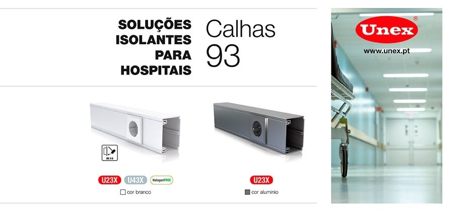 Soluções isolantes para o setor hospitalar da Unex