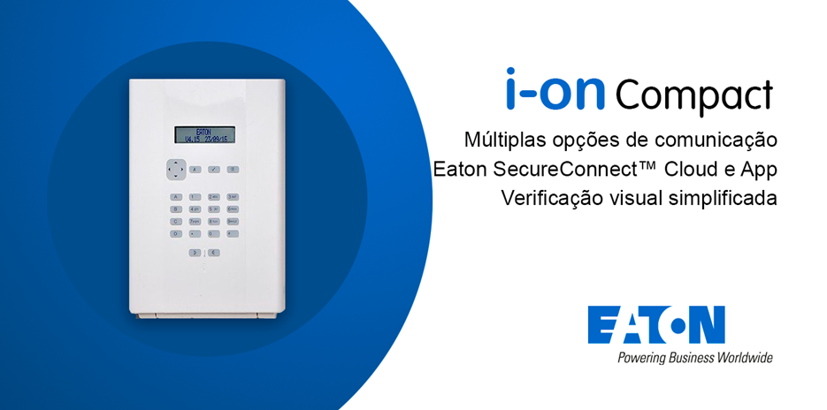 Central de Alarme I-ON COMPACT | WI-FI - Eaton